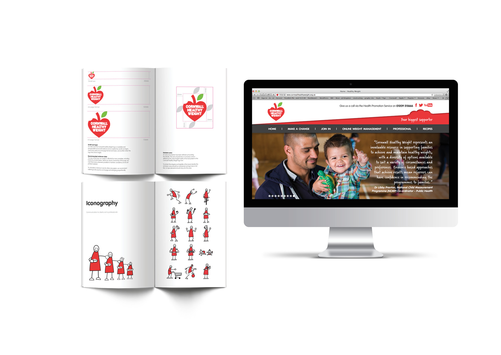 chw print and website design