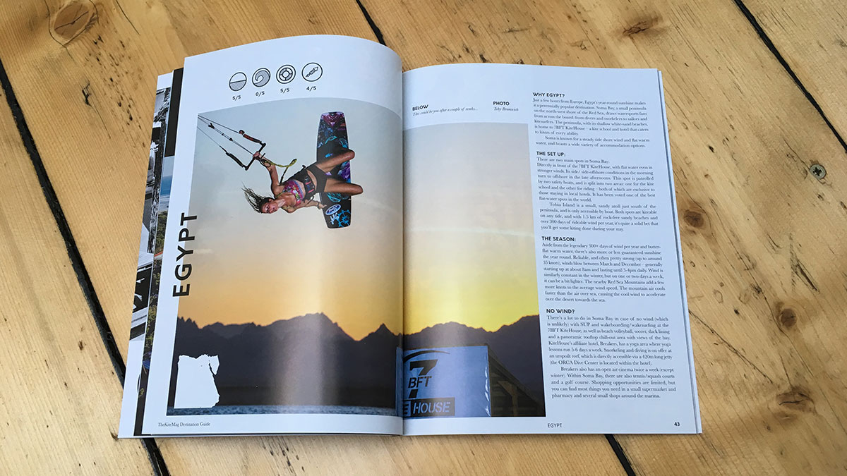 Thekitemag Destination Guide Autumn 2017 Spread