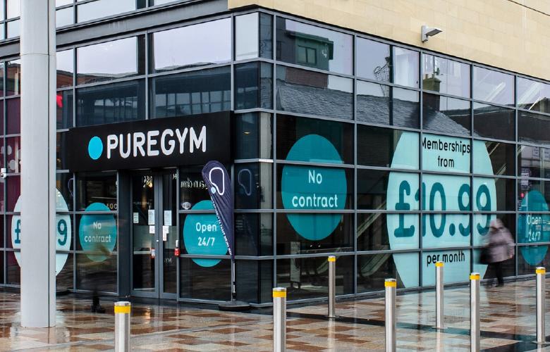 Pure Gym Canary Wharf >> Campaign Design Advertising Marketing Design Puregym Uk