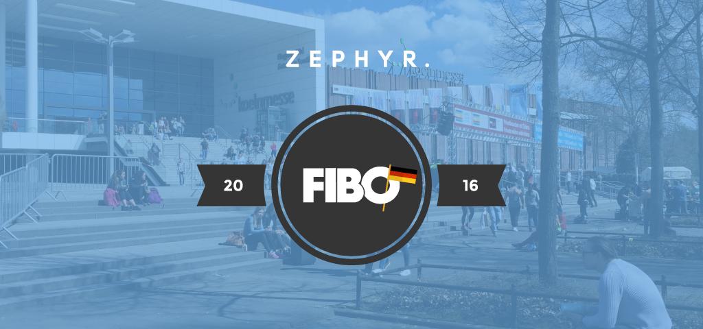 Zephyr Newsletter FIBO 2016 Header