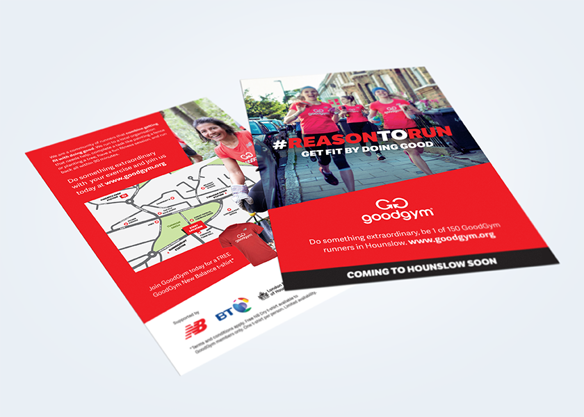 Goodgym Flyer design
