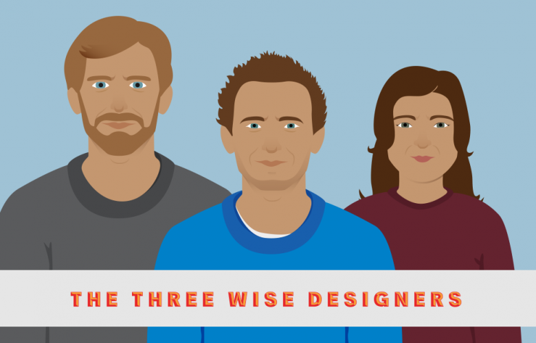 three wise designers