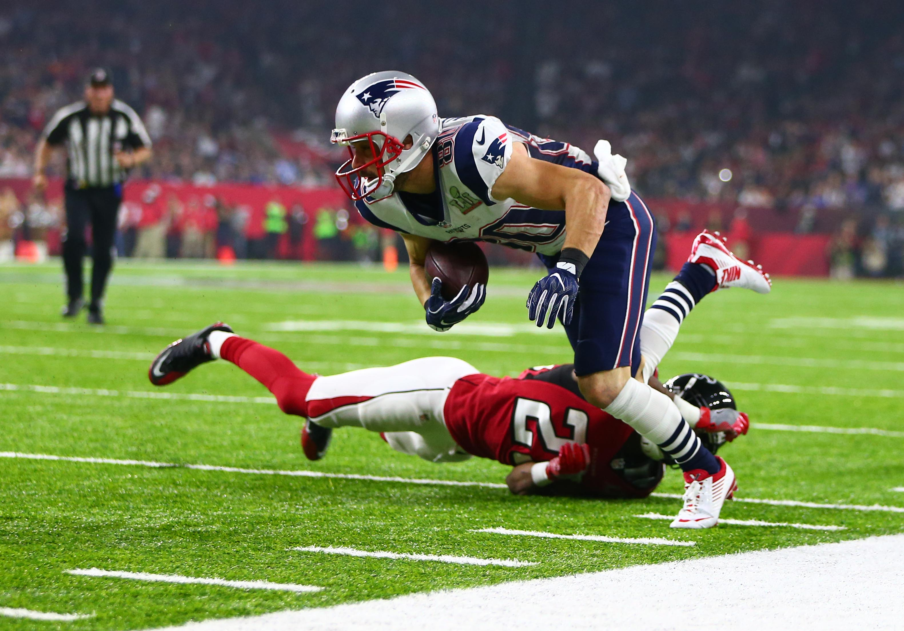 Danny Amendola New England Patriots Touchdown