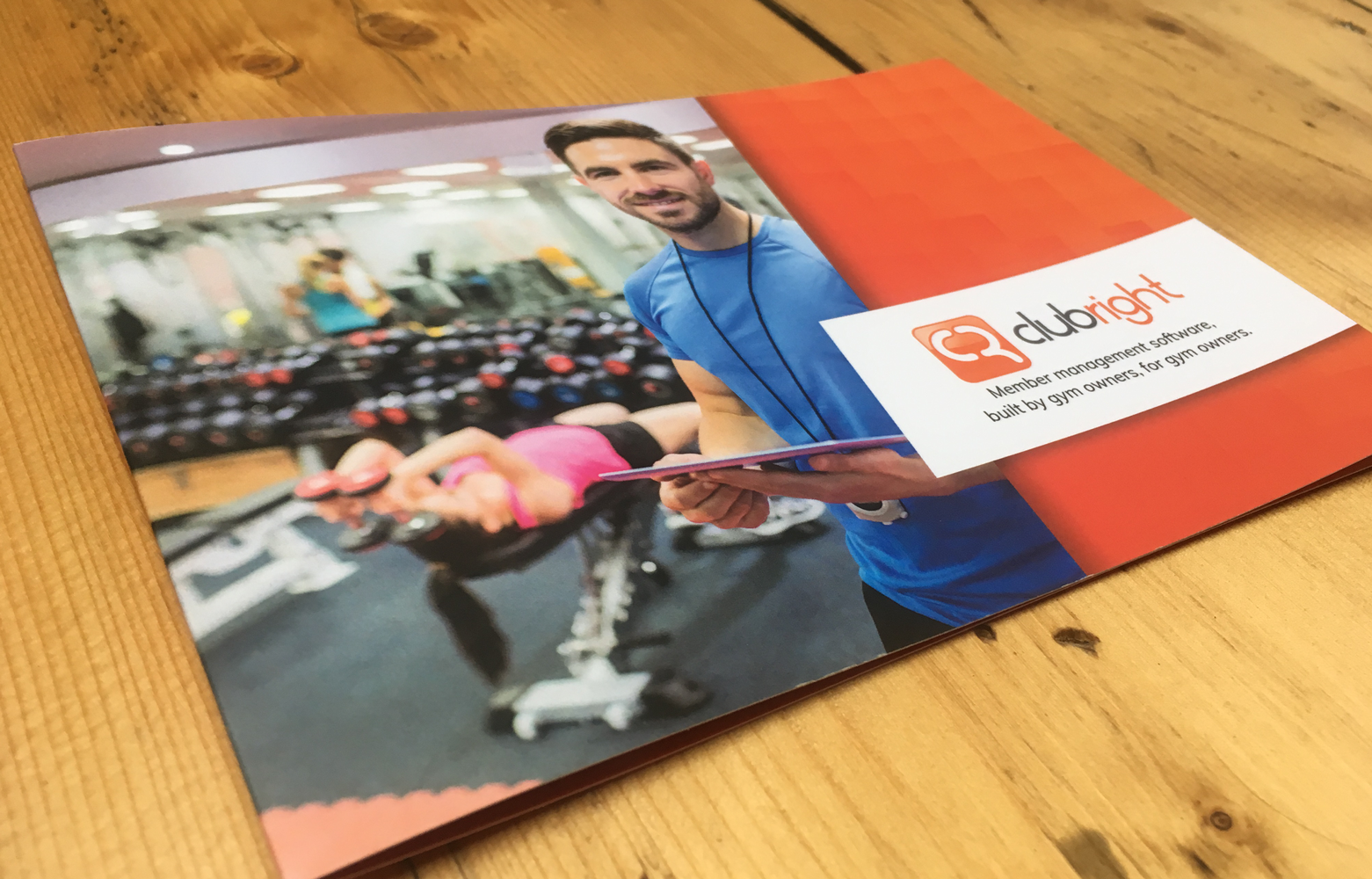 ClubRight Brochure Photo Front