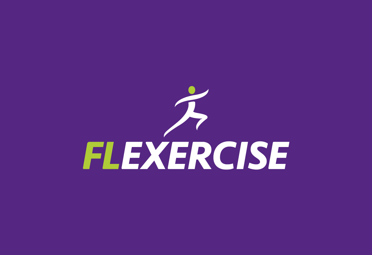 FL exercise Logo design